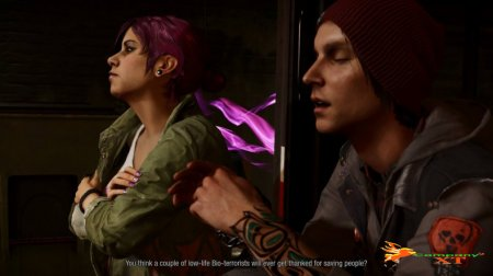 Gamescom 2014 : تریلری از inFamous : Second Son – First Light