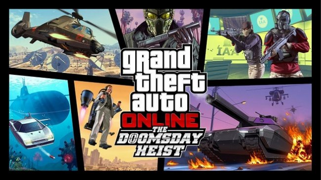 دانلود آپدیت Grand Theft Auto Online: The Doomsday Heist برای PC