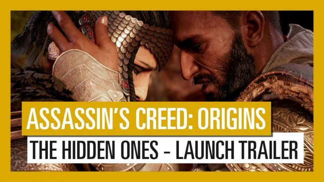 لانچ تریلر اولین DLC بازی Assassin's Creed Origins با نام The Hidden Ones منتشر شد