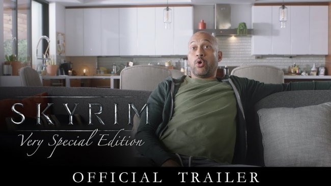 E32018تریلر Skyrim: Very Special Edition  منتشر شد