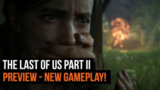 گیم پلی 5 دقیقه زیبایی از بازی The Last of Us Part II منتشر شد
