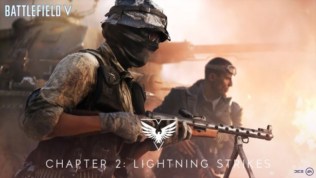 تریلر آپدیت Battlefield V Chapter 2: Lightning Strikes منتشر شد